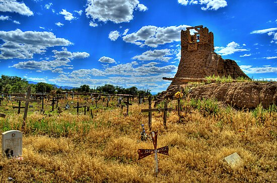 Sacred Burial Grounds Of Taos Pueblo by K D Graves Photography