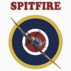 Spitfire Tee Shirt by Colin J Williams Photography