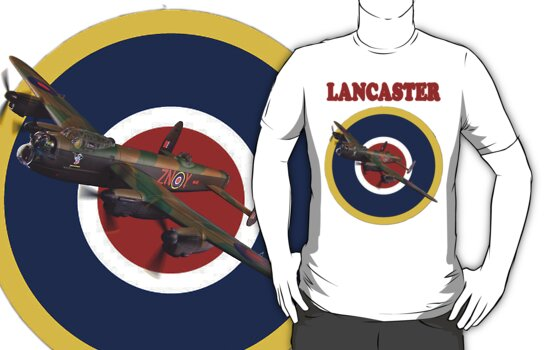 Lancaster Tee Shirt by Colin J Williams Photography