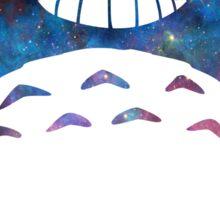Galaxy Totoro Sticker
