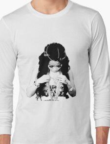 honey cocaine halftone Long Sleeve T-Shirt