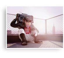 Monkey Beat Metal Print