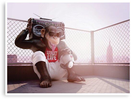 Monkey Beat by modernagestudio