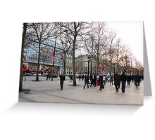 Parisian Mosaic - Piece 30 Greeting Card