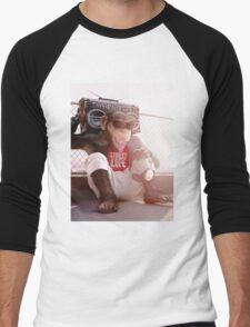Monkey Beat Men's Baseball ¾ T-Shirt