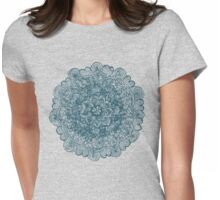 Embroidering With My Pencil Womens Fitted T-Shirt