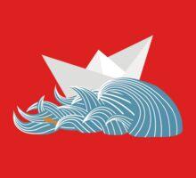 Sail Away One Piece - Long Sleeve