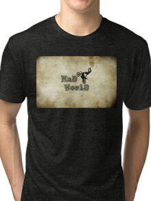 MAD WORLD MOTO X. Tri-blend T-Shirt
