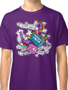 I'd Like to Spend The  Day Colouring with Crayons Classic T-Shirt