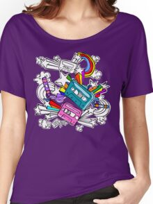 I'd Like to Spend The  Day Colouring with Crayons Women's Relaxed Fit T-Shirt