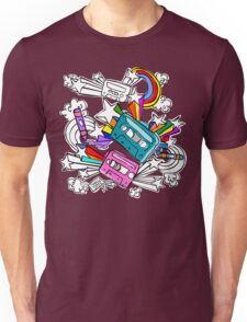 I'd Like to Spend The  Day Colouring with Crayons Unisex T-Shirt