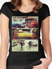 New Yorks Finest Print Women's Fitted Scoop T-Shirt