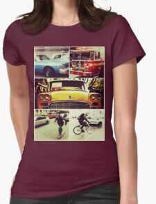 New Yorks Finest Print Womens Fitted T-Shirt