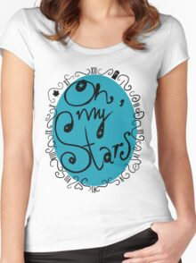 Oh, my Stars Women's Fitted Scoop T-Shirt