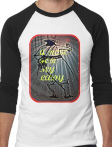 A ROSE MY LADY Men's Baseball ¾ T-Shirt