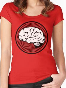 Brain!!! Women's Fitted Scoop T-Shirt