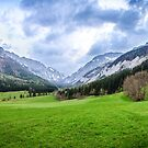 Hochschwab in the Alps by Zoltán Duray