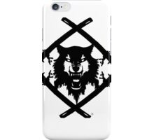 Hollow Squad wulf logo iPhone Case/Skin
