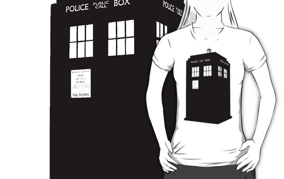 Tardis (Black) by CoExistance
