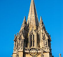 St Mary's Church Oxford England by mlphoto