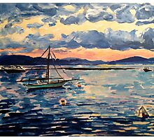 Vermont Sail Boats  Photographic Print