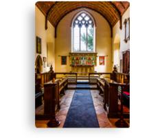 St Mary's Church Kintbury Berkshire Canvas Print