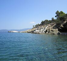 Greek coastline by Eleanor11