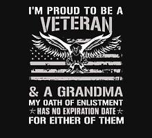 Proud Veteran and Grandma Unisex T-Shirt
