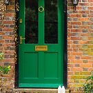 The Green Door England by mlphoto