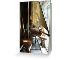A Collection of Pond Yachts IV Greeting Card