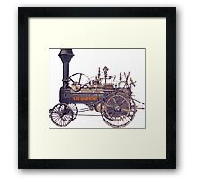 Steampunk Rebel Framed Print