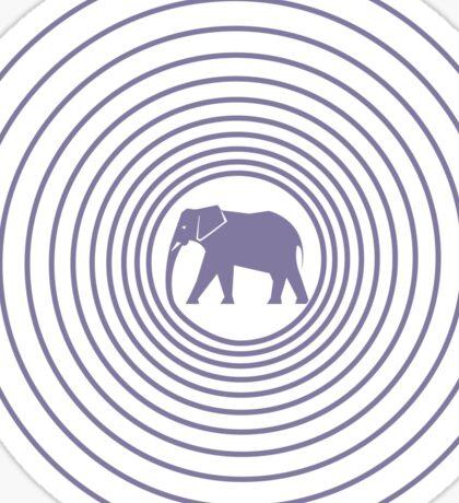 Spiralphant Sticker