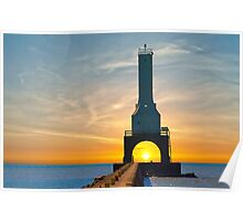 Ultimate Sunrise and Lighthouse Poster