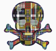 Tartan Mad Skull by simpsonvisuals