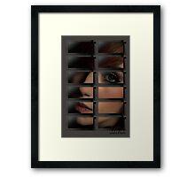 Microwave Goddess Framed Print