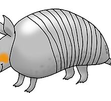 cute armadillo by CuteCartoon