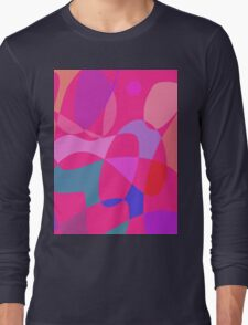 Pink Connections Long Sleeve T-Shirt