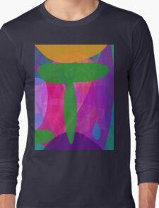 Green T Long Sleeve T-Shirt