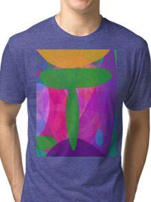 Green T Tri-blend T-Shirt