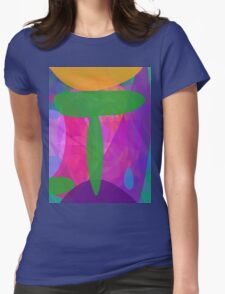 Green T Womens Fitted T-Shirt