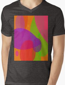 Flowers and Insects Mens V-Neck T-Shirt