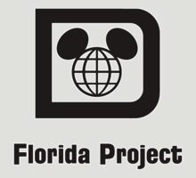Florida Project D Black Outline by AngrySaint
