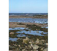 coastline st.andrews Photographic Print