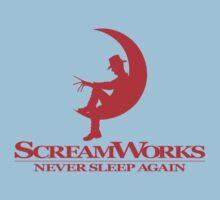 ScreamWorks (Red) Kids Tee