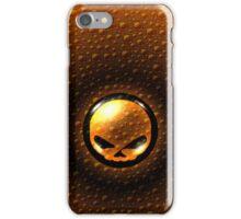Harley Davidson Design - Orange/Black iPhone Case/Skin
