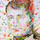 NAPOLEON BONAPARTE - watercolor portrait by lautir