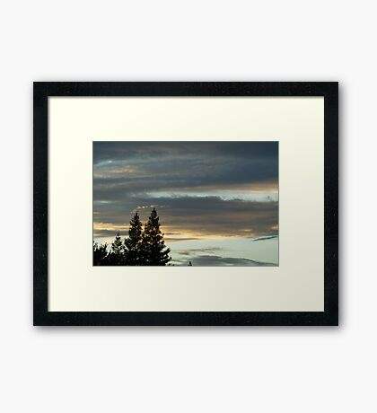 Beauty in Saddness Framed Print