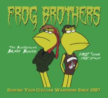The Frog Brothers - The Lost Boys Parody Shirt by RetroReview