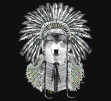 Indian chief wolf  T-Shirt