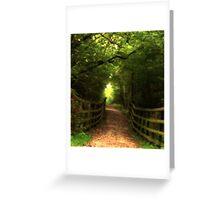 Wakerly Woods, Northamptonshire Greeting Card